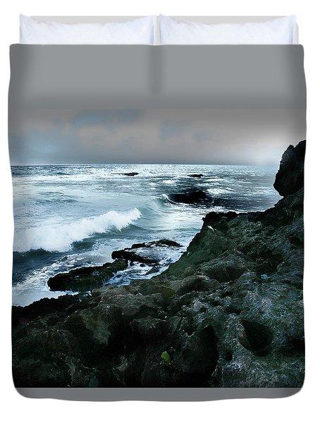 Zamas Beach #5 Duvet Cover