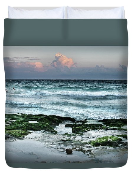 Zamas Beach #7 Duvet Cover