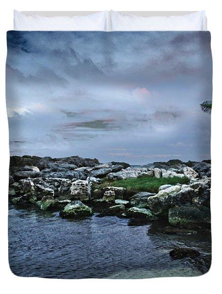 Zamas Beach #8 Duvet Cover