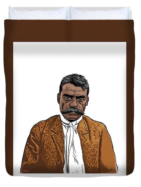 Zapata Duvet Cover by Antonio Romero