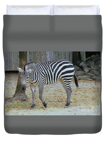 Zebra 2 Duvet Cover