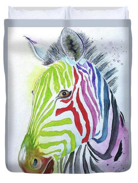 My Polychromatic Friend Duvet Cover