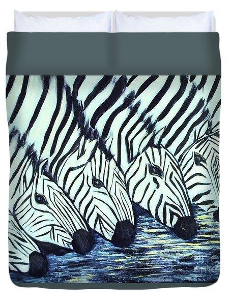 Zebra Line Duvet Cover