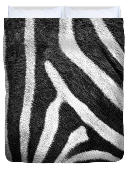Zebra Stripes Duvet Cover
