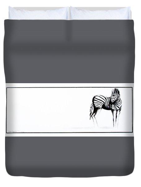 Zebra3 Duvet Cover