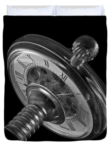Zeitdruck Time Pressure Duvet Cover