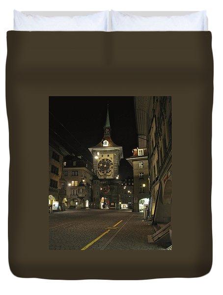Zeitglockenturm Duvet Cover by Matt MacMillan