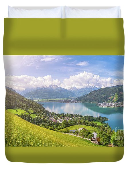 Zell Am See - Alpine Beauty Duvet Cover