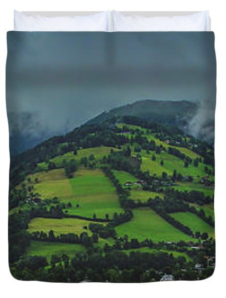 Zell Am See Panorama Duvet Cover