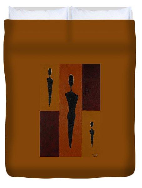 Five Daughters  Duvet Cover by Harris Gulko