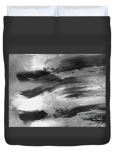 Zen Abstract A715d Duvet Cover