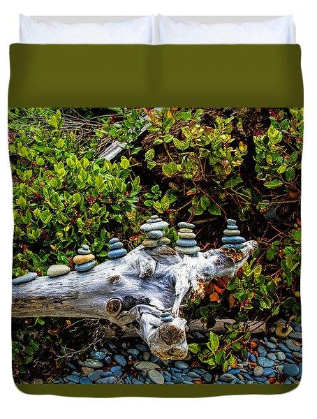 Zen Duvet Cover by Alana Thrower