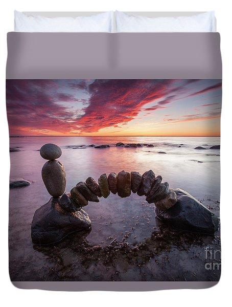 Zen Arch Duvet Cover