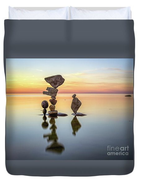 Zen Art Duvet Cover