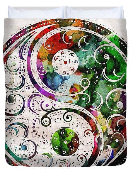 Zen Bliss Large Poster Print Duvet Cover