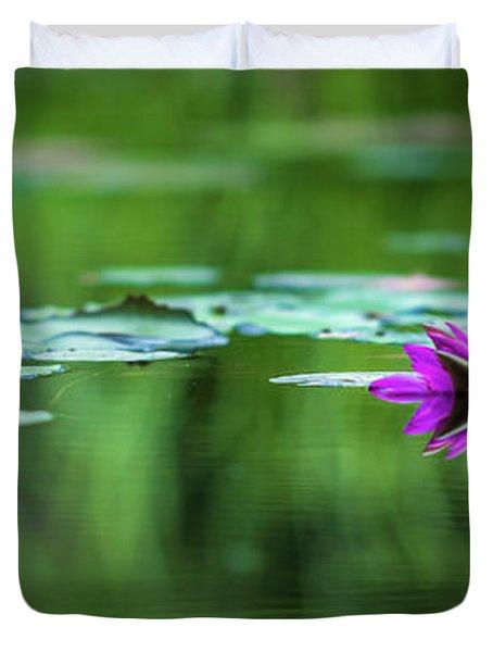 Zen Blossom Duvet Cover
