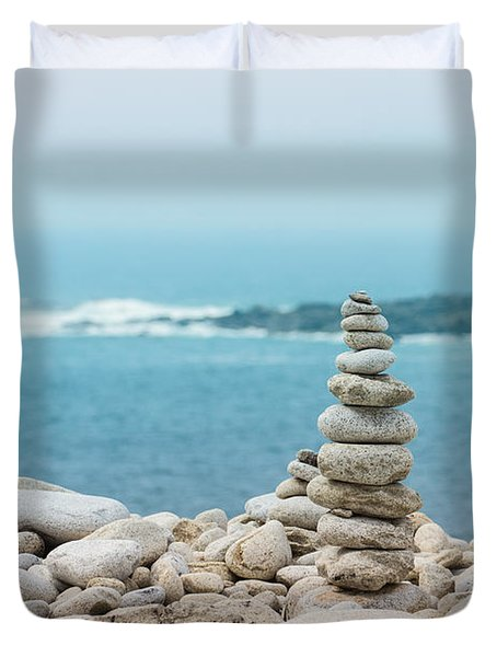 Zen Duvet Cover by Clare Bambers