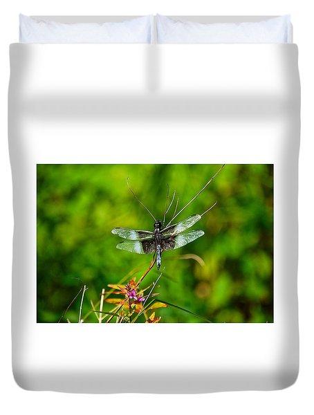 Zen Dragonfly 2 Duvet Cover