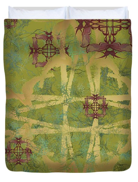 Zen Fly Colony Duvet Cover