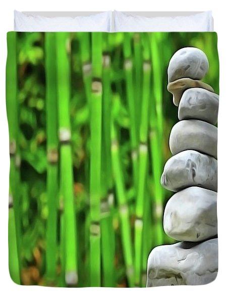 Zen Garden Duvet Cover