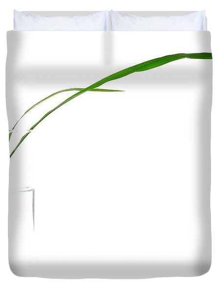 Zen Grass Duvet Cover