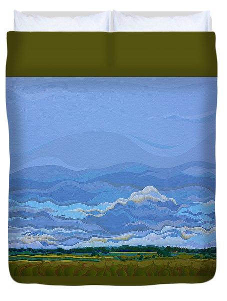Zen Sky Duvet Cover