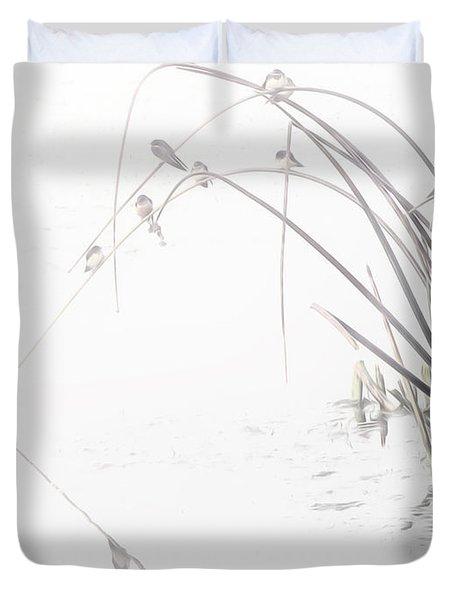 Zen Streamside Duvet Cover