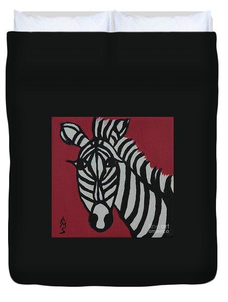Zena Zebra Duvet Cover