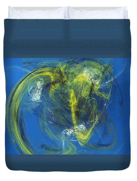 Zero Tolerance Policy Duvet Cover