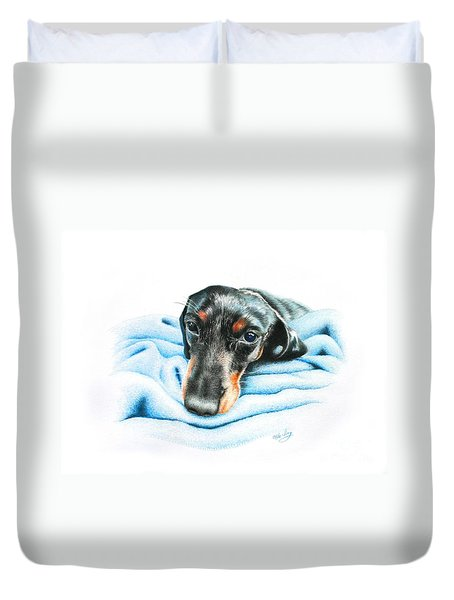 Zeus Duvet Cover by Mike Ivey
