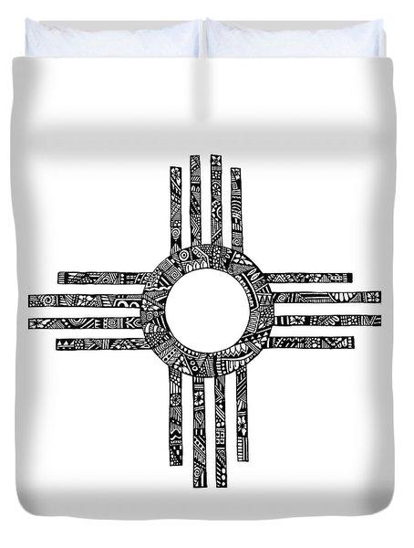 Zia Symbol Duvet Covers Fine Art America