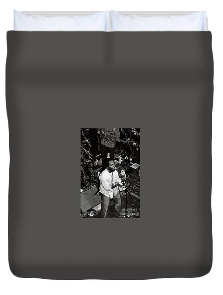 Duvet Cover featuring the photograph Ziggy Marley by John F Tsumas