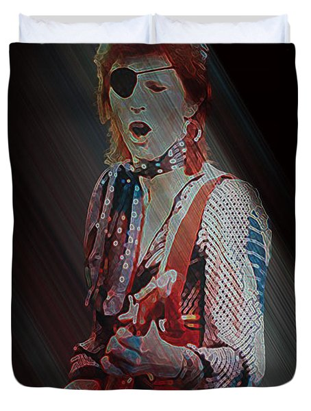 Ziggy Played Guitar Duvet Cover
