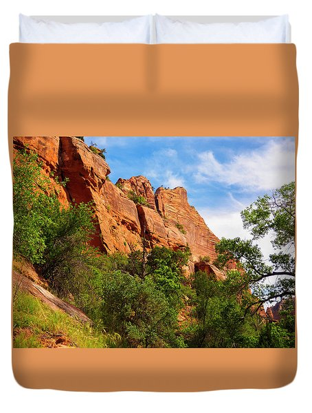 Zion National Park 1 Duvet Cover