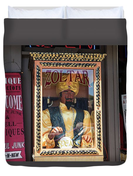 Zoltar Speaks Duvet Cover