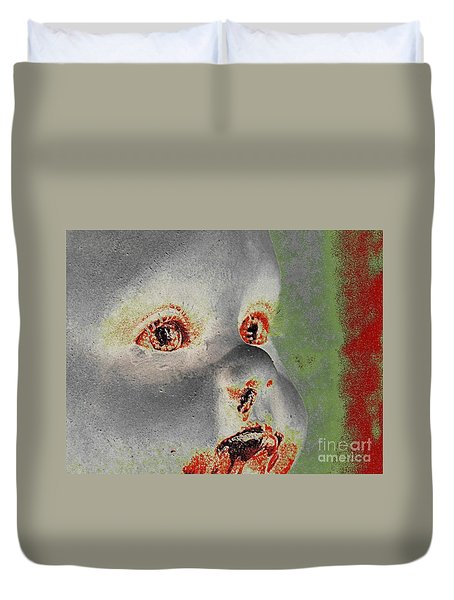 Zombie Baby Four Duvet Cover
