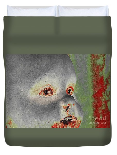 Zombie Baby Three Duvet Cover