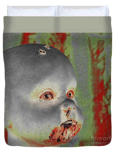 Zombie Baby Two Duvet Cover
