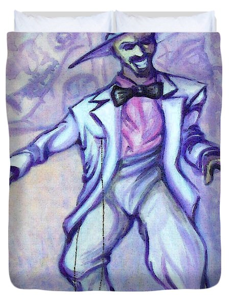 Zoot Suit Duvet Cover by Kevin Middleton