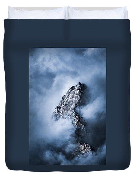 Zugspitze Duvet Cover by Yu Kodama Photography