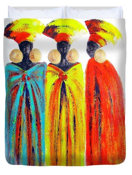 Zulu Ladies Duvet Cover