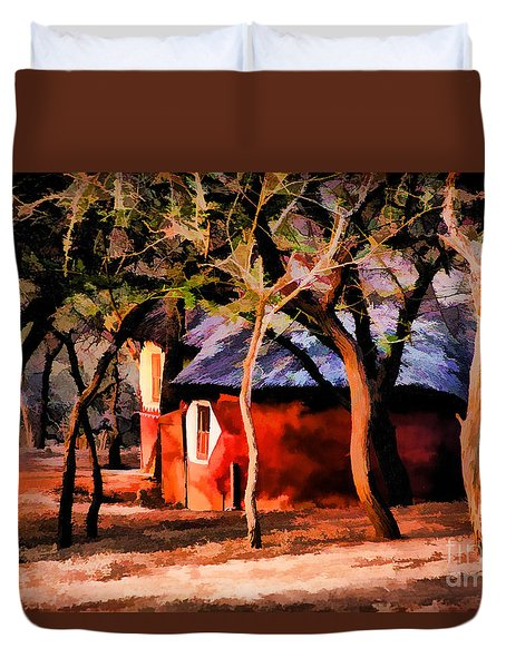 Zulu Sunset Duvet Cover