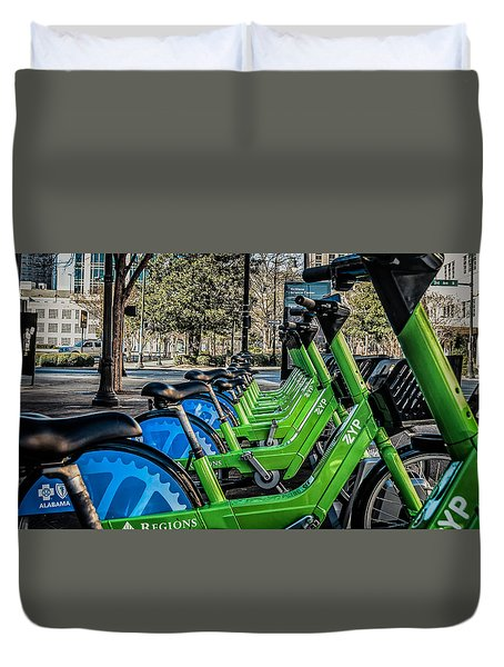 ZYP Duvet Cover by Phillip Burrow