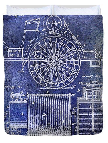 1873 Fire Extinguisgers Patent Duvet Cover