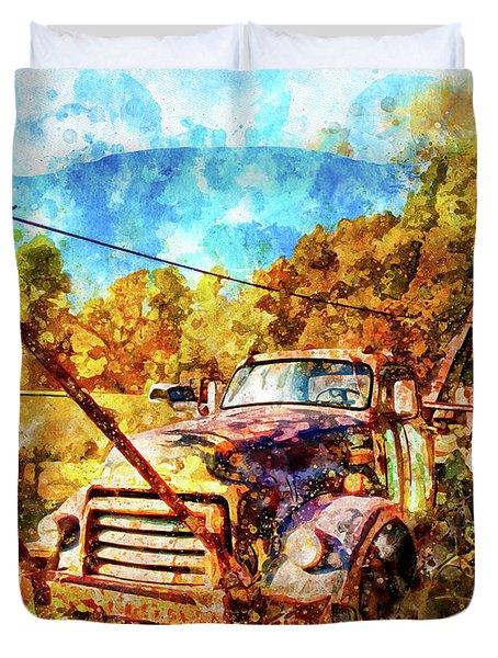 1950 Gmc Truck Duvet Cover