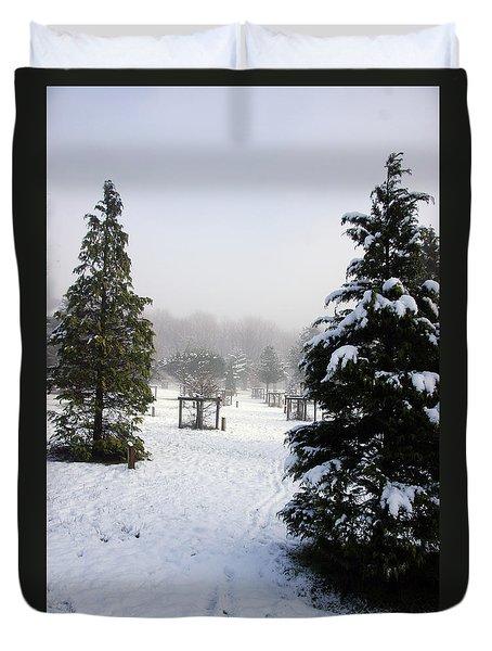 30/01/19  Rivington. Memorial Arboretum. Duvet Cover