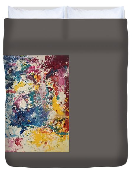Playing With Color IIi Duvet Cover