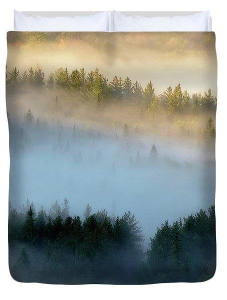 Adirondack Fog Duvet Cover