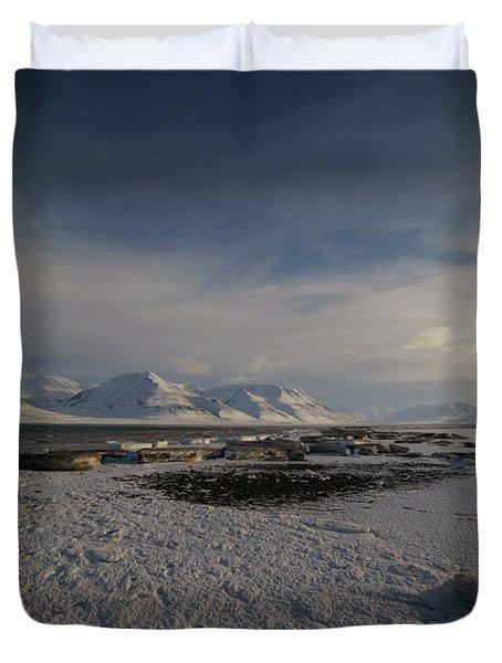 Adventfjorden Duvet Cover