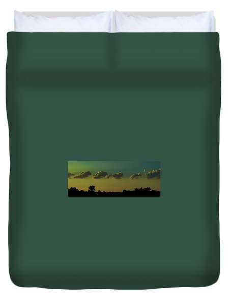 All In A Row Duvet Cover